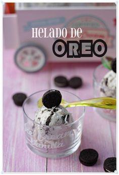 Helado de Oreo {by Paula, Con las Zarpas en la Masa}