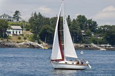 Cruising off Boothbay Harbor ME