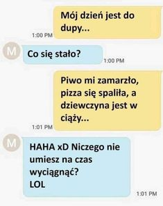 Funny Sms, Wtf Funny, Funny Jokes, Hilarious, Polish Memes, Everything And Nothing, Best Memes, Writing Prompts, Haha