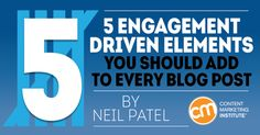 The 5 things you should add to every blog post