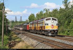 RailPictures.Net Photo: CP 4107 Canadian Pacific Railway EMD FP9 at Campbellville, Ontario, Canada by Dan Tweedle