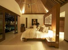 Tranquil Balinese bedroom