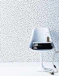 Cheetah wallpaper by Real Living's Sarah Ellison - The Interiors Addict