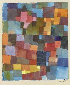 "alongtimealone: "" [ K ] Paul Klee - Raumarchitekturen (Auf Kalt-Warm) () (by Cea.) """