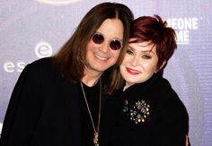 14 Famous Couples Who Will Never Ever Break Up : Ozzy & Sharon Osbourne Ozzy And Sharon Osbourne, Ozzy Osbourne, Famous Couples, Tv Guide, Movie List, Best Actor, Celebrity Gossip, Breakup, Actors & Actresses