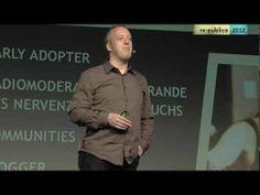 ▶ re:publica 2012 – Tim Pritlove - Die Wiederentdeckung der Langsamkeit. Warum Podcasts funktionieren. (57:30 Min.)
