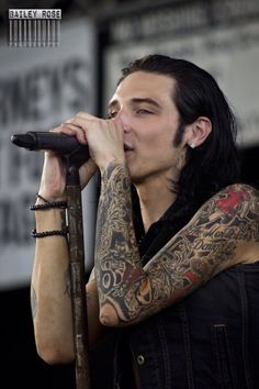 Performing at Warped Tour 2015