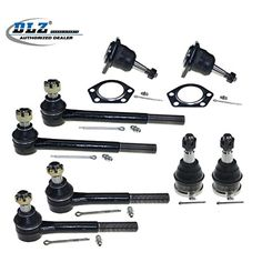 DLZ 8 Pcs Front Kit-2 Lower 2 Upper Ball Joint, 2 Inner 2 Outer Tie Rod End for Chevrolet Blazer C10/C15/R10 (Pickup/Suburban) G10 G20 P10, GMC C15/C1500 (Pickup/Suburban), GMC G15/G1500 Van -- Awesome products selected by Anna Churchill