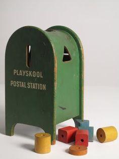 Playskool Postal Station