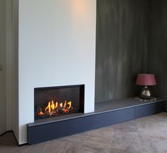 Living Room Decor Fireplace, Fireplace Tv Wall, Wall Mount Electric Fireplace, Modern Fireplace, Fireplace Design, Modern Tv Room, Feature Wall Living Room, Built In Buffet, Eclectic Furniture