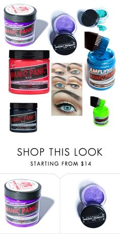 """""""Manic panic"""" by kayleighmw on Polyvore featuring beauty and Manic Panic"""