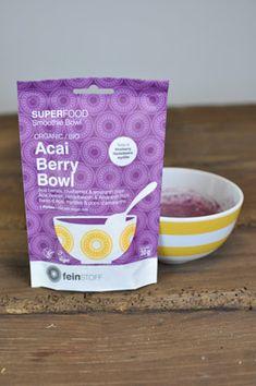 Eine leckere Frühstücksbowl wie aus einem Café in unter 5 Minuten – mit dem Bio Acai Berry Bowl Mix überhaupt kein Problem. Aufreißen, umrühren, warten, fertig! :)