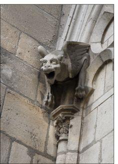 Gargouille cathedrale Notre Dame de Paris