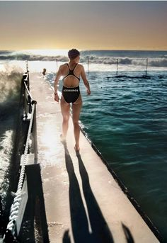 """From the """"Winter Swimmers"""" series by Matt Hoyle"""