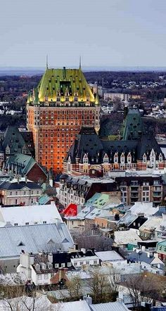 Old Quebec City, Canada (by Jeremy Woodhouse)