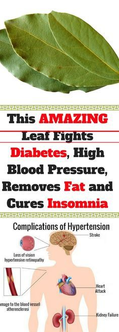 This AMAZING Leaf Fights Diabetes, High Blood Pressure, Removes Fat and Cures Insomnia!