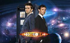 The Doctor and The Master by beckaloo.deviantart.com on @DeviantArt