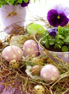 Tischdeko zu Ostern selbst basteln