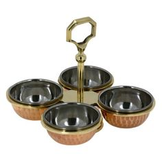 Indian Serve Ware Pickle Condiment Holder Four Serving Bowls ShalinIndia http://www.amazon.com/dp/B00JDFU0H6/ref=cm_sw_r_pi_dp_MGZRvb0J9MQVZ