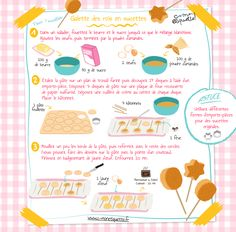 Revisit the recipe of the classic Galette des Rois by making lollipops! Our simple and tasty recipe will please young and old … Kids Cooking Recipes, Fun Cooking, Easy Meals For Kids, Kids Meals, Cakepops, Easy Desserts, Delicious Desserts, Little Chef, Macarons