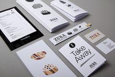 Zuka Restaurant Sant Cugat graphic design by Lo Siento Studio, Barcelona Restaurant Identity, Restaurant Menu Design, Print Design, Web Design, Graphic Design, Cafe Menu Boards, Sushi Logo, Packaging Design, Branding Design