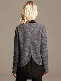 Metallic Cross-Back Pullover Product Image