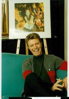 David Bowie, c. 1995