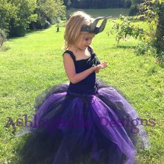 Hey, I found this really awesome Etsy listing at https://www.etsy.com/listing/203407271/maleficent-maleficent-tutu-dress