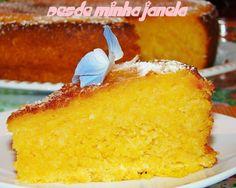 Bolo de batata doce com coco, tenho que experimentar!! Sweet potato & coconut cake, have to give this one a try!