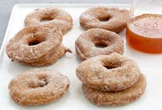 This apple fritters recipe is great for brunch or alongside ice cream. The secret ingredient of beer deepens the flavor of the apple fritters. Apple Fritter Recipes, Apple Recipes, Fall Recipes, Sweet Recipes, Spice Cake Recipes, Dessert Recipes, Desserts, Bread Recipes, Apple Spice Cake