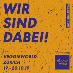 VeggieWorld -- the fair for vegan lifestyle -- takes place this weekend (October 19th/20th 2019) in Zürich-Oerlikon/ Switzerland (hall 622 directly at the train station Oerlikon). PANVEGA will present its yummy organic-vegan veg' N co products with the unique GMO-free vitamin B12. Just come, see and enjoy and meet us at our booth No S7. Der Bus, Vitamin B12, Vegan Lifestyle, Train Station, Switzerland, Vitamins, October, Meet, Organic