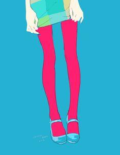 Color tights