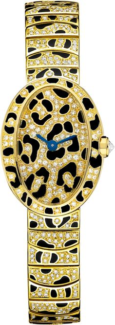 enamel & diamonds Cartier