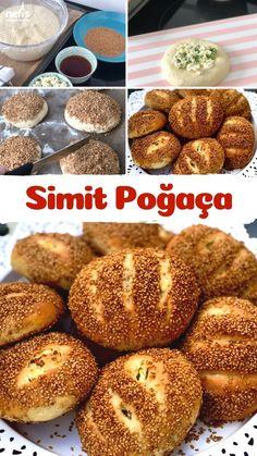 Coffee Creamer Recipe, Turkish Recipes, Bagel, Hamburger, Bread, Cooking, Food, Essen, Kitchen