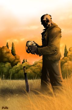 Jason Voorhees art from the FRIDAY THE 13TH series of films. Description from pinterest.com. I searched for this on bing.com/images