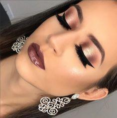 Outstanding Makeup goals tips are readily available on our site. Glam Makeup, Party Makeup, Eyeshadow Makeup, Bridal Makeup, Drugstore Makeup, Perfect Makeup, Gorgeous Makeup, Makeup Eye Looks, Face Makeup