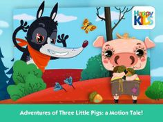 New app for kids - The Three Little Pigs - Interactive Book with Mini Games for Kids for iPad http://www.appysmarts.com/application/the-three-little-pigs-interactive-book-with-mini-games-for-kids,id_99942.php