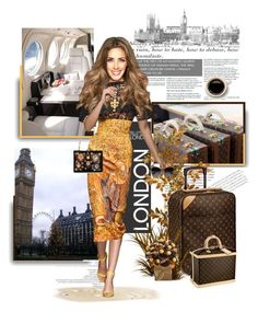 """""""London ✈"""" by hsane ❤ liked on Polyvore"""