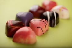 chocolate confections- hearts