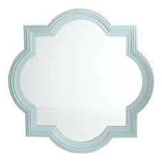 "Mughal Mirror Price: $349.00  Dimensions: 32""w x 1""d x 32""h"