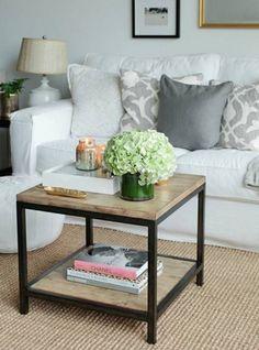 acquista online tavolini da salotto vintage legno e ferro | designxtutti tavolino da salotto anche su misura