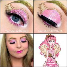 Ever After High C.A Cupid Makeup