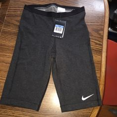 NWT Nike Pro Training DriFit Pants. MED Brand new! Tags are still attached.   Never worn! Elastic like material!   Just bought the wrong size! Nike Pants Track Pants & Joggers