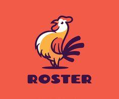 Rooster Color Mascot Logo Rooster Logo, Logo Design, Graphic Design, Great Logos, Patch Design, Creative Logo, Orange Color, Branding, Colours