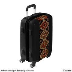 Kabristan carpet design luggage