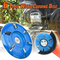 6 Teeth Wood Carving Disc Tired of carving woods by using hand tools? This powerful 6 Teeth Wood Carving Disc is designed to Woodworking Bench, Woodworking Shop, Woodworking Crafts, Woodworking Organization, Woodworking Quotes, Intarsia Woodworking, Woodworking Basics, Woodworking Supplies, Woodworking Workshop