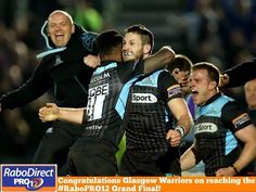 Glasgow Warriors into the final of the ProRabo 2014