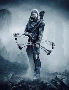 Post Apocalyptic - Gas Mask Ranger