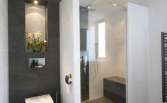 begehbare dusche badgestaltung ideen ebeneridige dusche