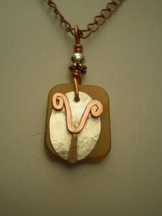 Letter Y Alphabet Letter Pendant Copper over by MonkeyCommandoArts, $38.00